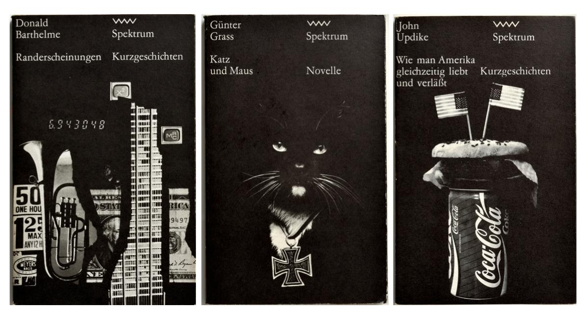 Buchreihe Spektrum, drei Bände