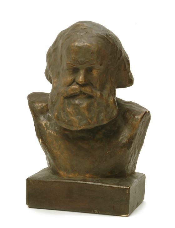 Büste von Karl Marx, Sammlung Werkbundarchiv - Museum der Dinge