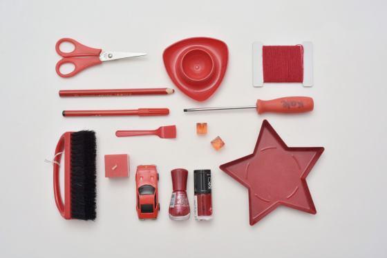 Junge Sammler, rote Sammlung
