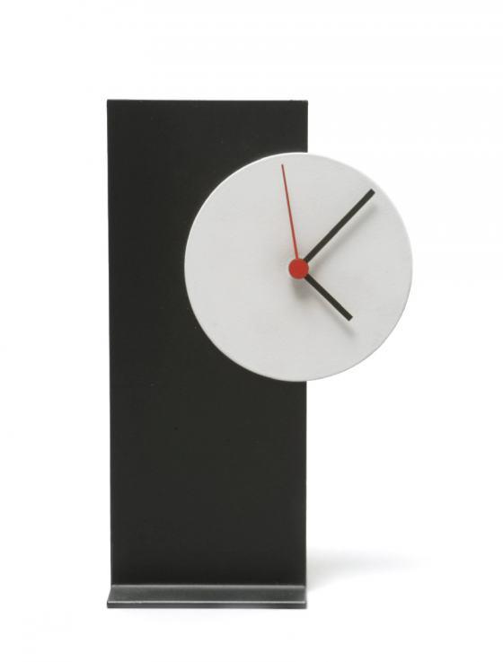 Uhr minimalistisch, Sammlung Werkbundarchiv - Museum der Dinge