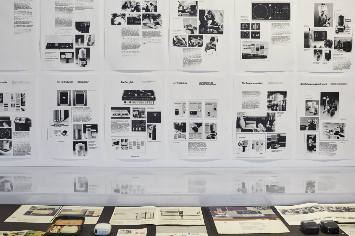 """Blick in die Ausstellung """"Die Braun Idee"""" 3"""