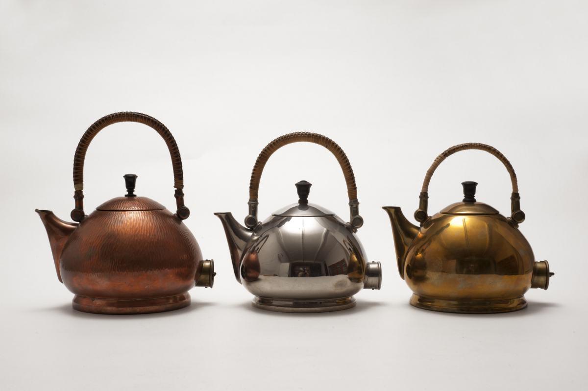 Wasserkessel, gestaltet von Peter Behrens für AEG, Sammlung Werkbundarchiv - Museum der Dinge