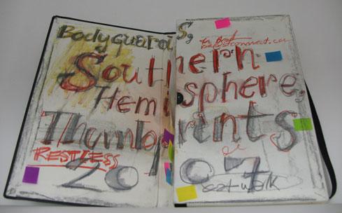 Moleskine Detour Sonderausstellung im Werkbundarchiv - Museum der Dinge Notizbuch von Ron Arad